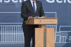 The President of the Federal Republic of Germany, Frank-Walter Steinmeier.