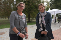 Abraham Geiger college's chancellor Dr. Anne Brenker with EUPJ chairman Sonja Güntner.