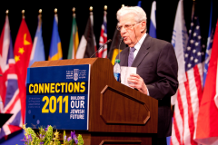 Rabbi Hirsch speaking at WUPJ Connections 2011.