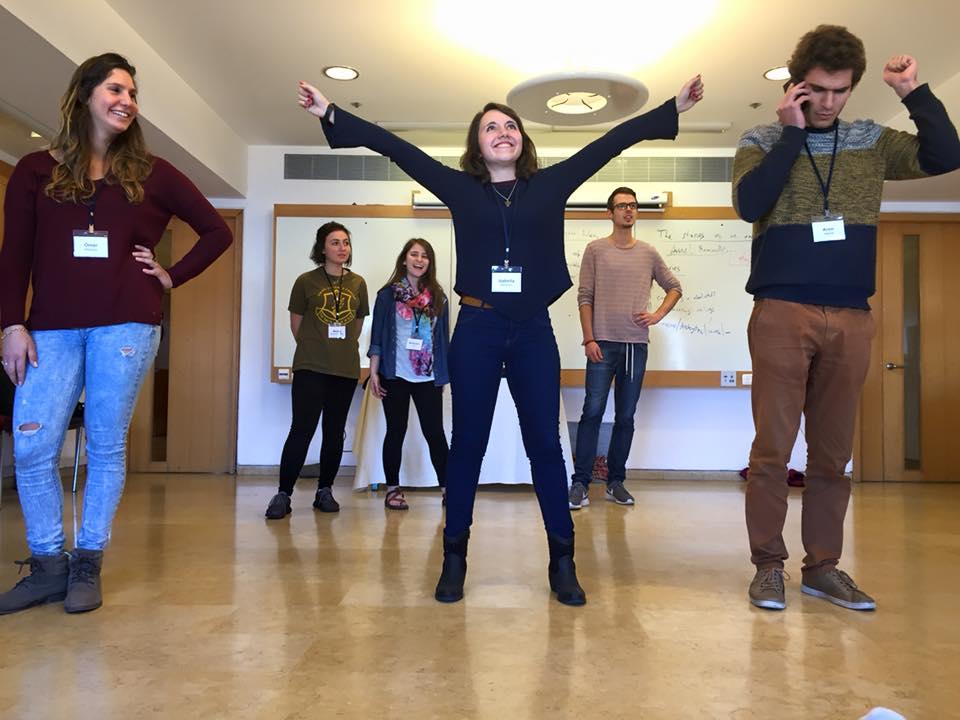 2015-16 Roswell Klal Yisrael Fellows In a Workshop in Jerusalem, at Beit Shmuel