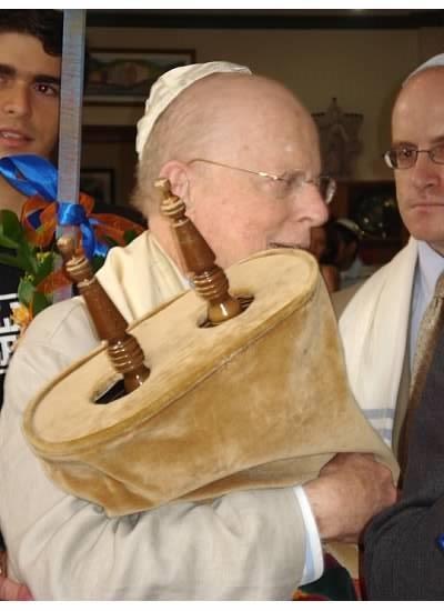 Dedication of Torah Scroll to Bnei Israel Costa Rica from Nasvhille