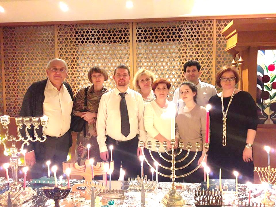 Chanukah 2017 Celebrations in Moscow at L'Dor veDor community