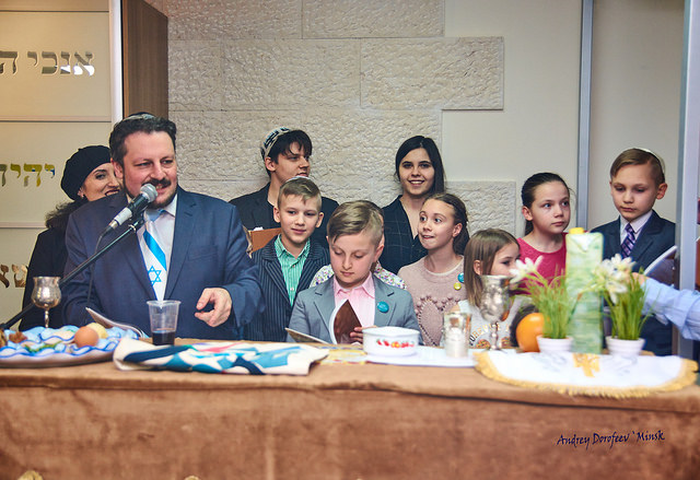 Pesach Project Celebrations in Beit Simha in Minsk, Belarus