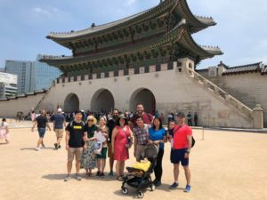 Scene from APJ Young Professionals Shabbaton in Seoul, June 2018
