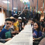 Scene from Netzer Summer Camp in the FSU, 2018