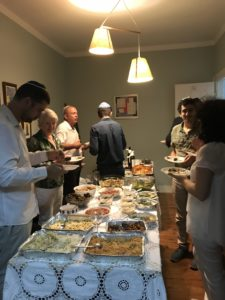 Connecting with Ohel Jakov in Lisbon, Rosh Hashana 2018