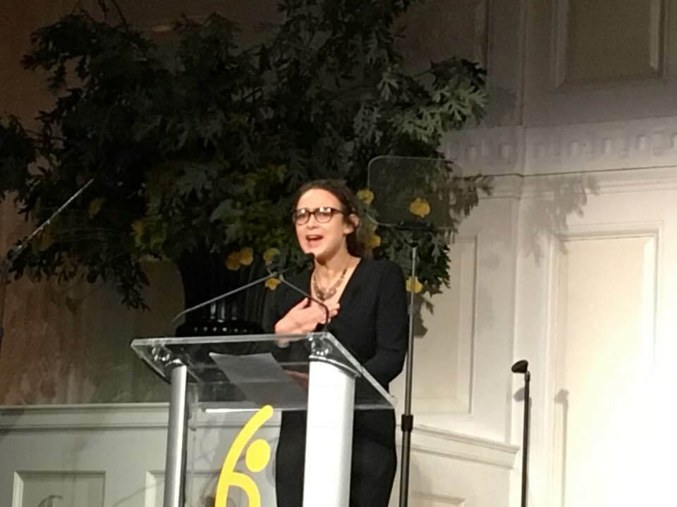 Rabbi Delphine Horvilleur Wins Global Hope Coalition Award in NYC 2018