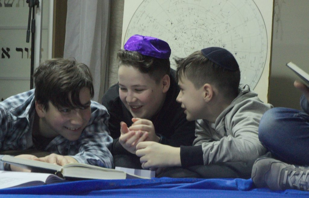 Scene from Netzer Winter Camp Minsk Dec 2018 Beit Simha