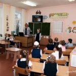 Scene from a classroom at the Third Pedagogical Conference in Gomel Belarus Jan 2019