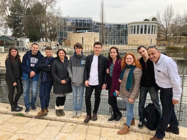 MASA FSU participants touring Jerusalem February 2019
