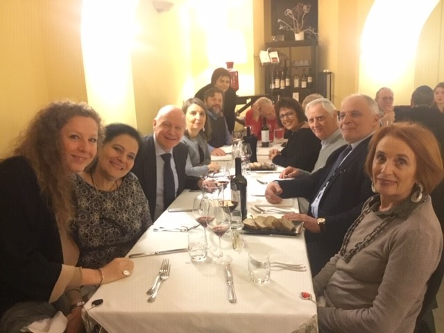 Twinning Meet up between Reform Congregations in Geneva and Rome, February 2019
