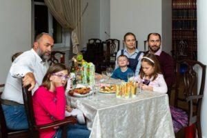 Celebrating Tu Bshvat at Shaarei Shalom in St Petersburg