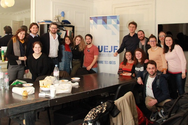 Klal Yisrael Fellowship Visits ULIF in Paris March 2019