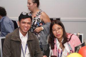 Benjamin Meijer Verbrugge and Rachel Lung Agustini (United Indonesian Jewish Community)