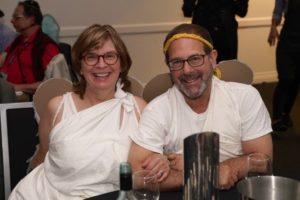 Janet Henrie and Larry Lockshin (Beit Shalom Synagogue, Adelaide)