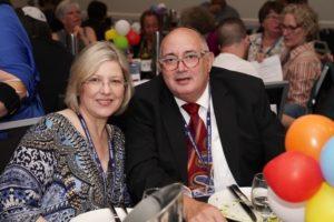 Louise Ward and Michael Shnukal (Temple Shalom Gold Coast)