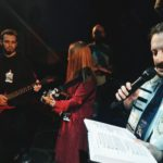 Scene from the Purimshpeil Festival in Vitbesk, March 2019