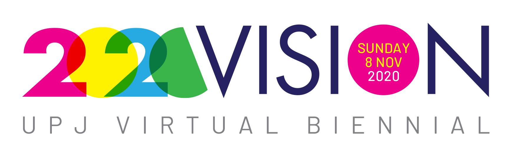 Logo for the UPJ Virtual Biennial